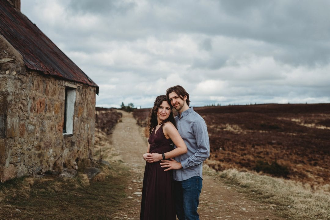 Cairngorms bothy near aviemore - couples session