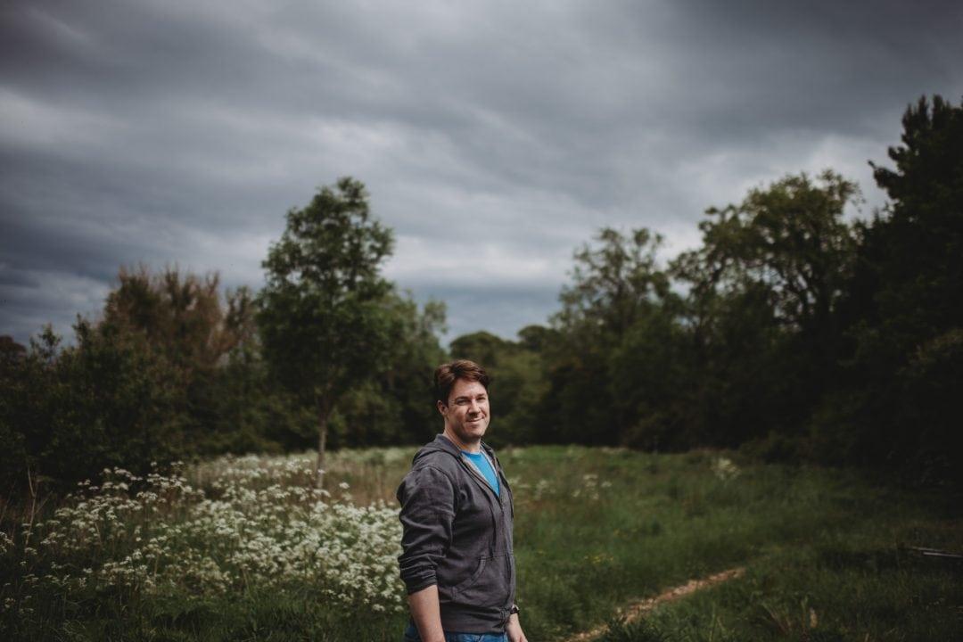 roulotte retreat meadow, Scotland, Scottish Borders