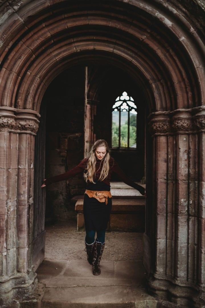 melrose abbey, scottish borders