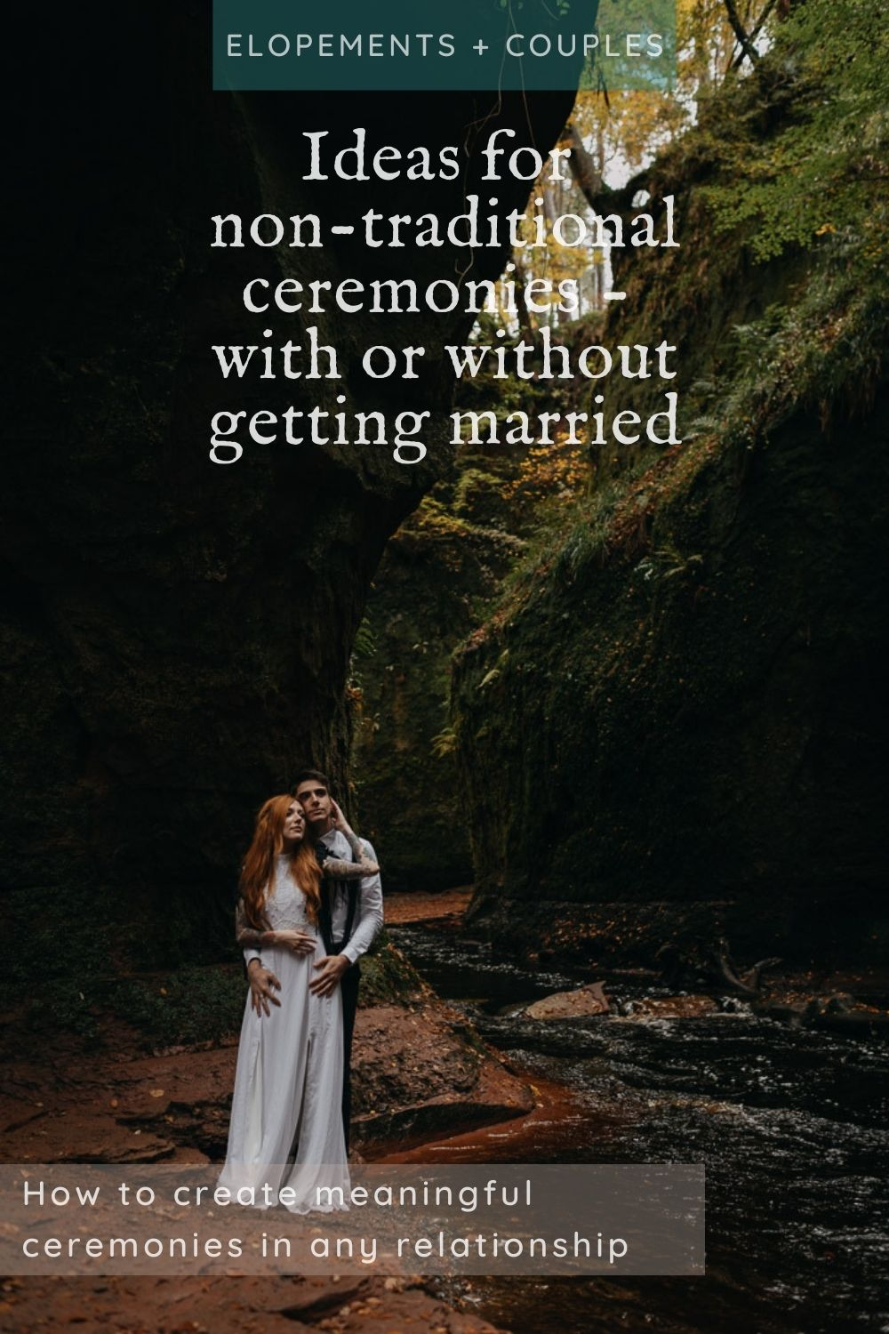 Non-traditional ceremonies for all couples - married or unmarried