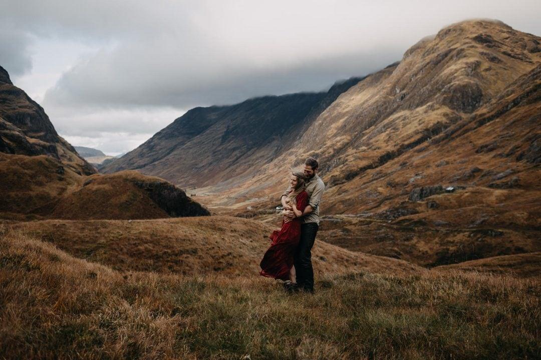 glencoe engagement handfasting scotland