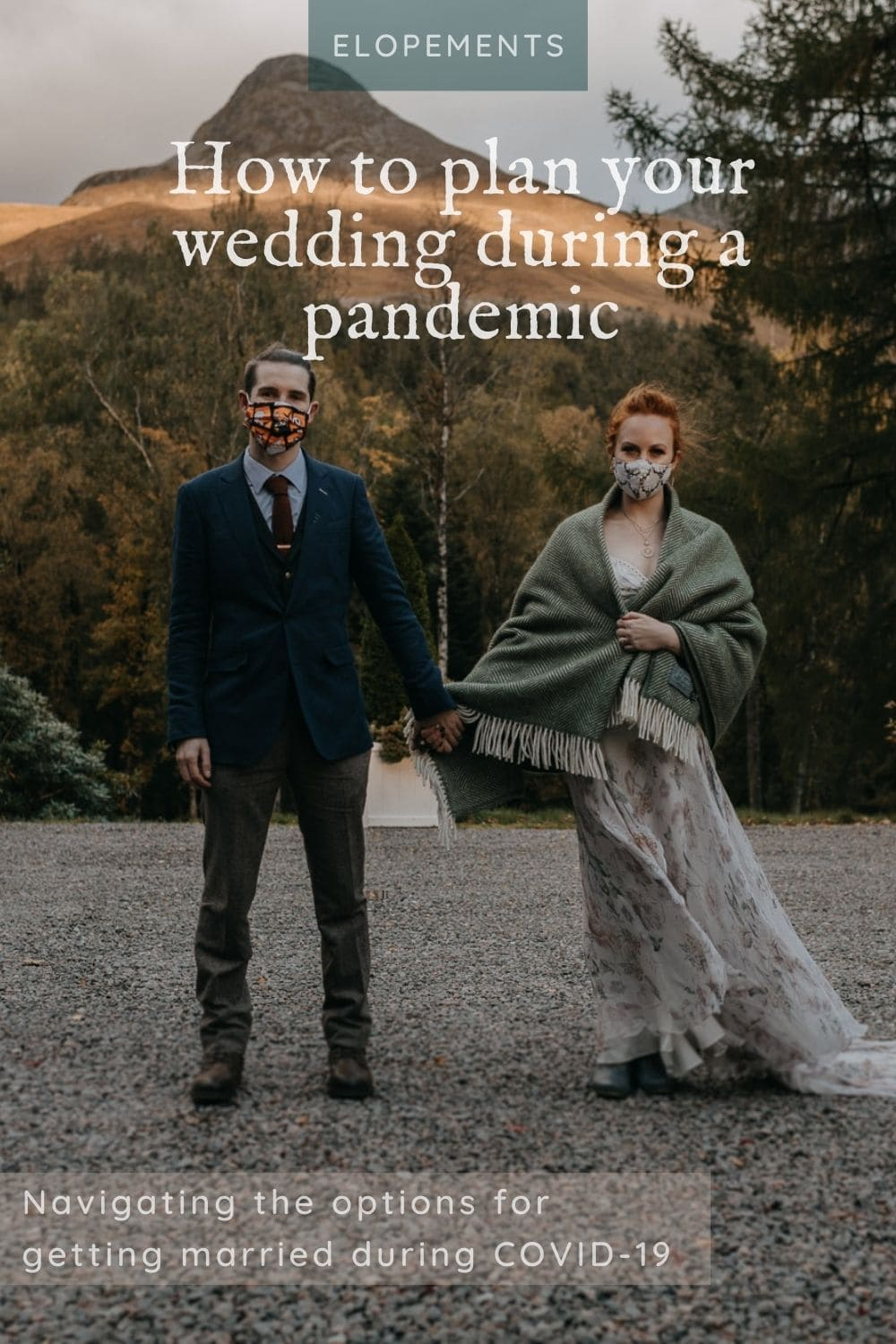 pandemic wedding planning couple - guide