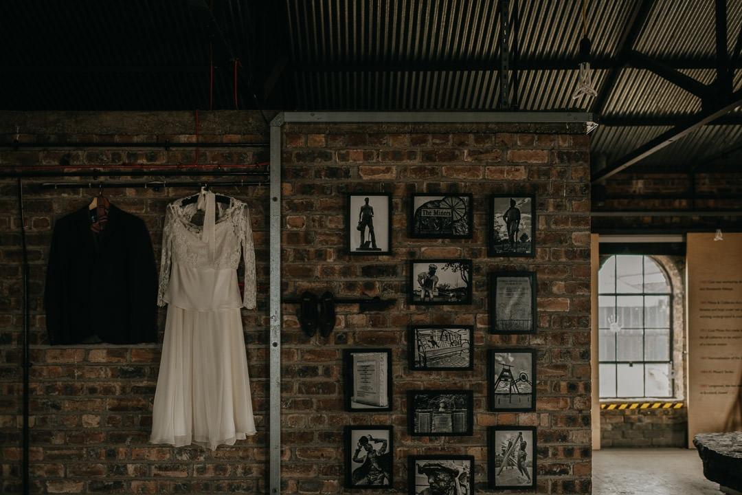 Unique scottish wedding venue - the National Mining Museum, Newtongrange