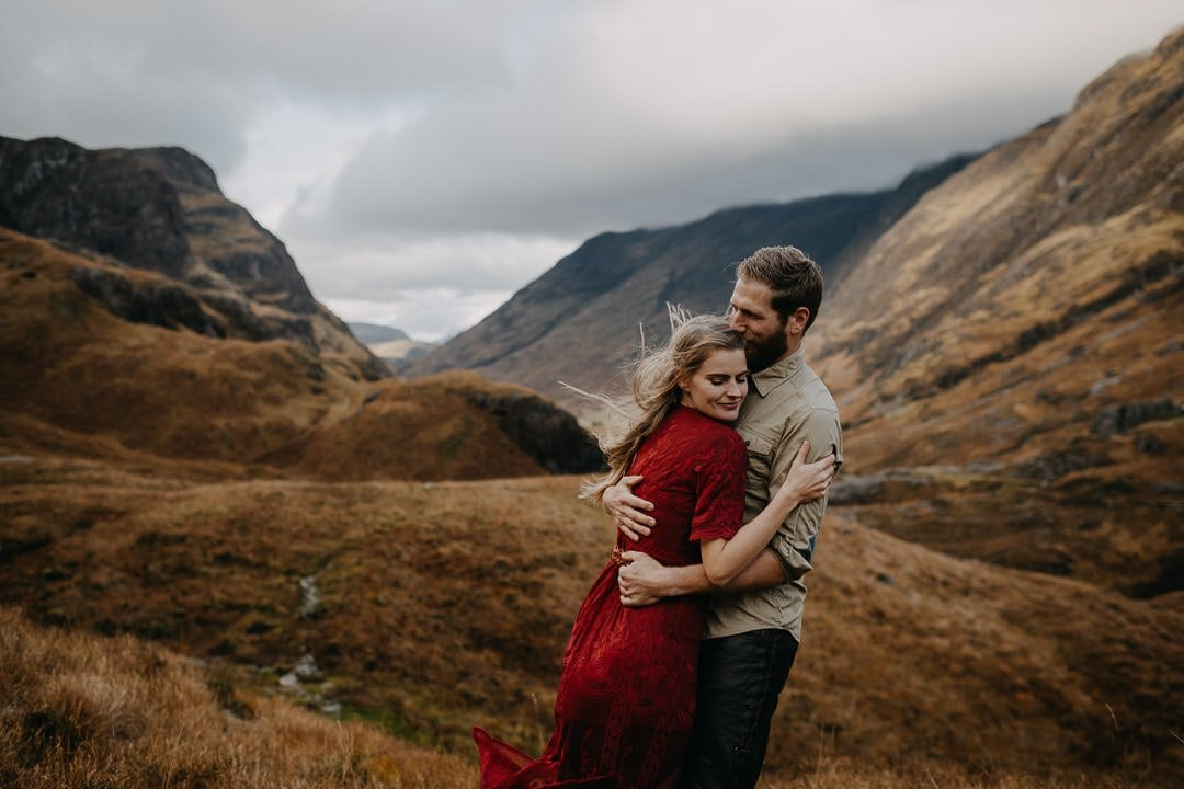 Epic dramatic Glencoe elopement by local Scottish photographer