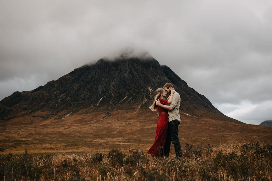 A unique vacation experience for a romantic dutch couple who are visiting the Scottish Highlands