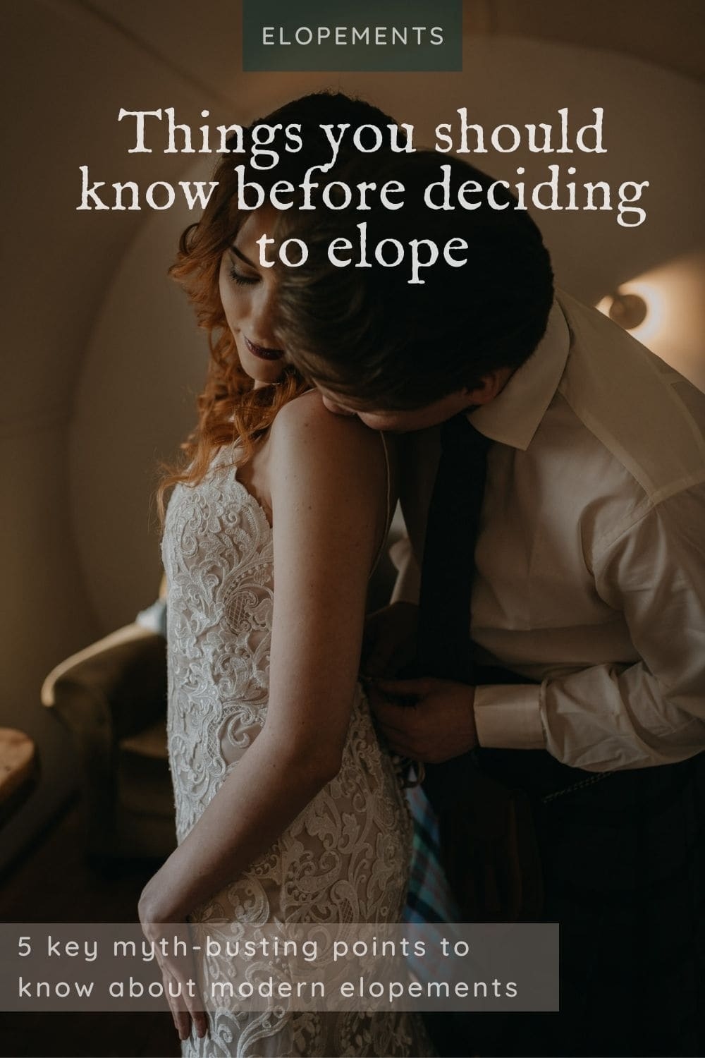 things to know before deciding to elope