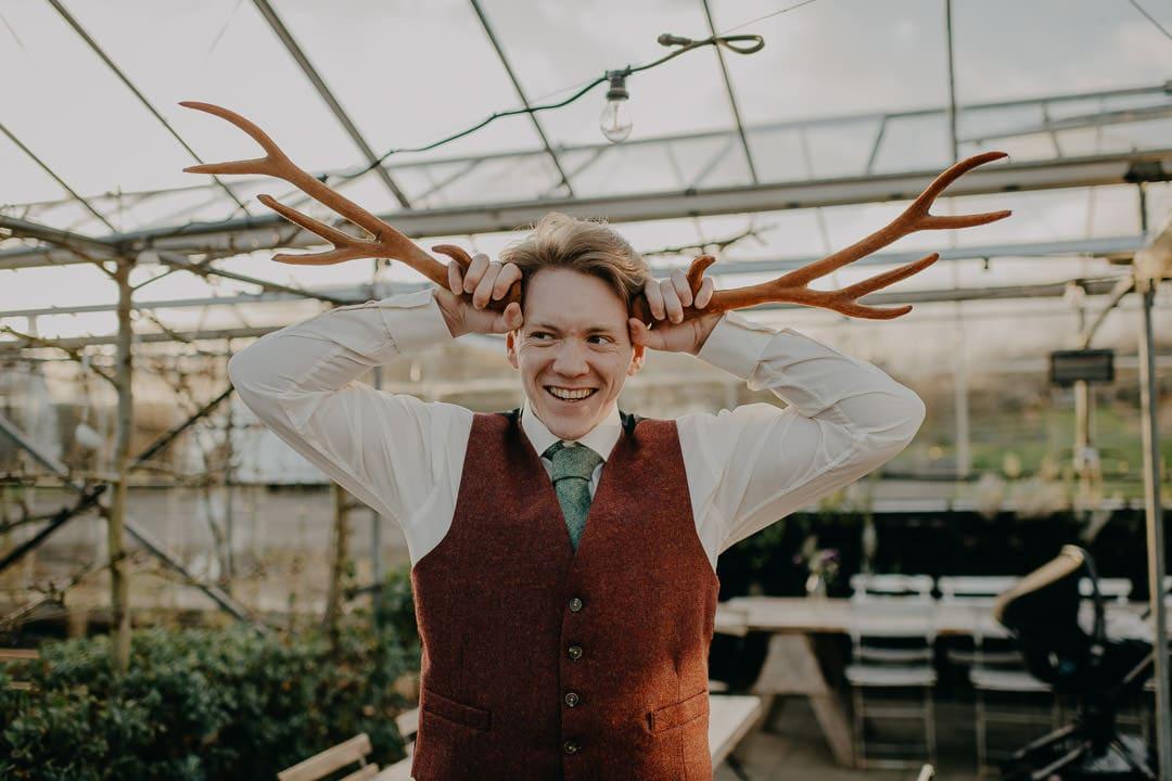 Scottish groom style for elopement
