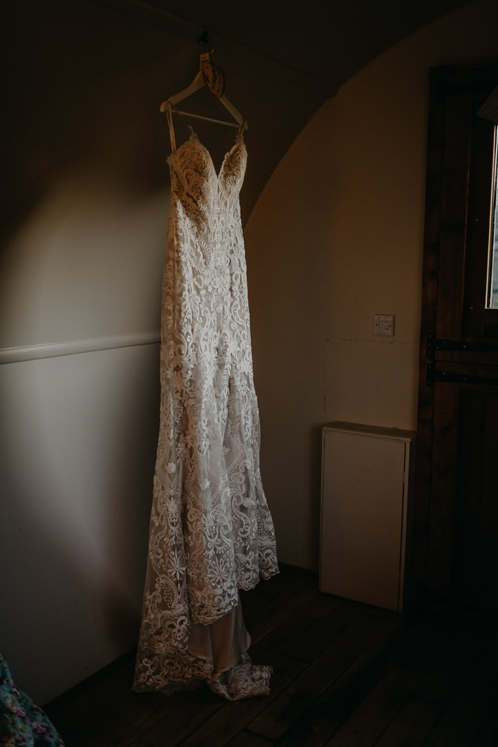 Bohemian lace wedding dress inspiration - to elope in Scotland