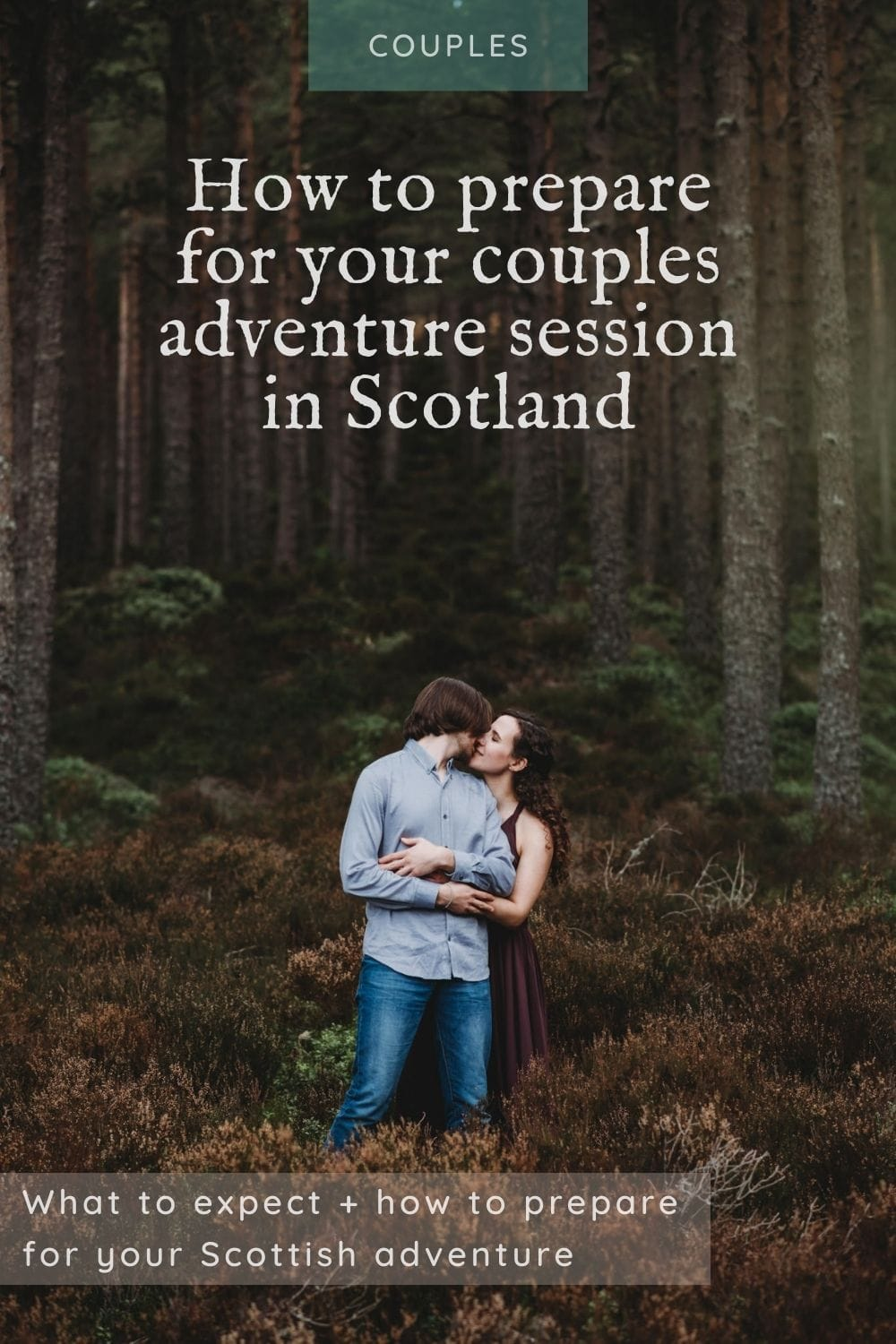 Guide - preparing for a couples session in Scotland
