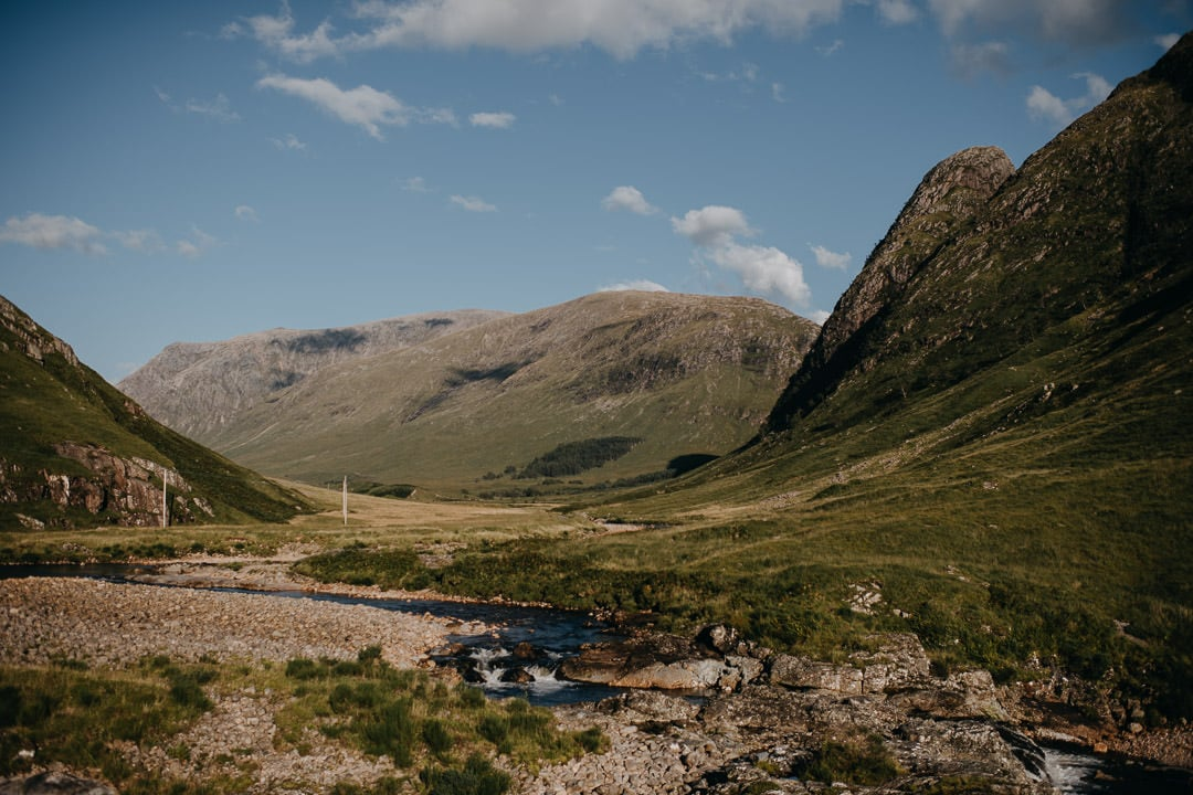 Glen Etive Elopement in Scotland Summer