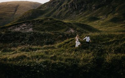 Scotland elopement inspiration in epic Glen Etive