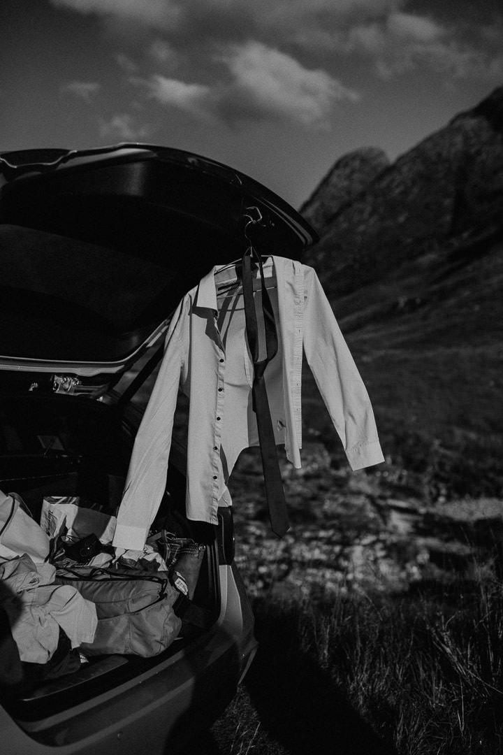 Eloping in Glen Etive