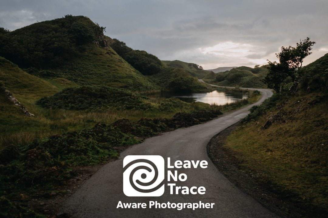 Leave no trace in Scotland - keep Scotland wild and beautiful for future elopements - Isle of Skye elopement location
