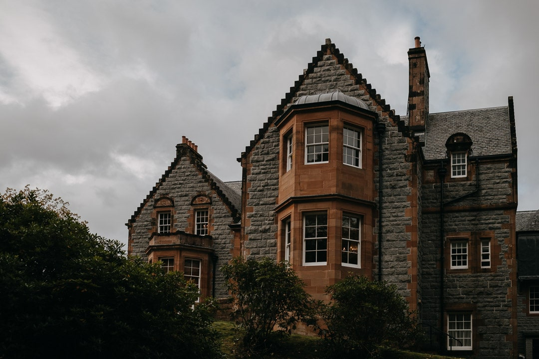Glencoe house hotel elopement location
