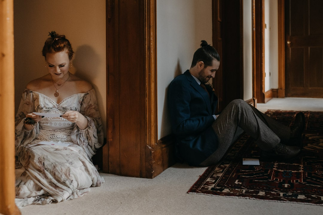 Morning elopement ideas - notes