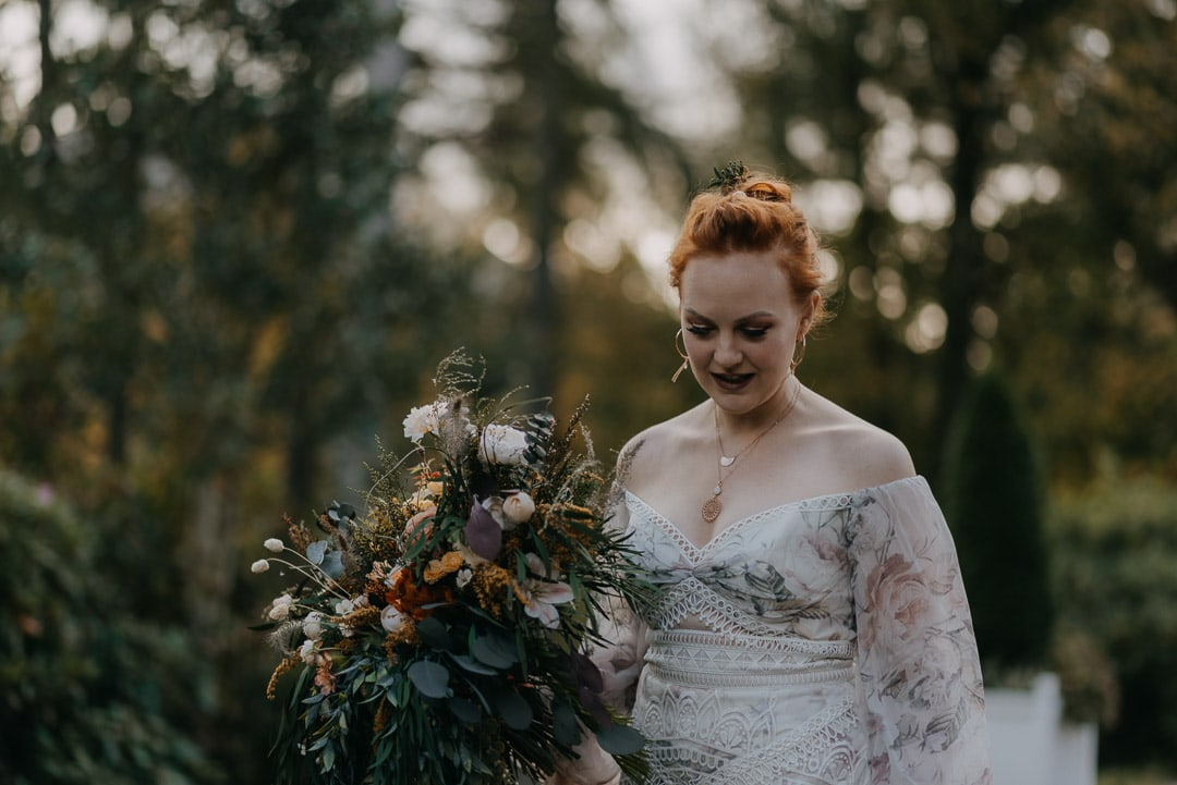 First look at Glencoe elopement