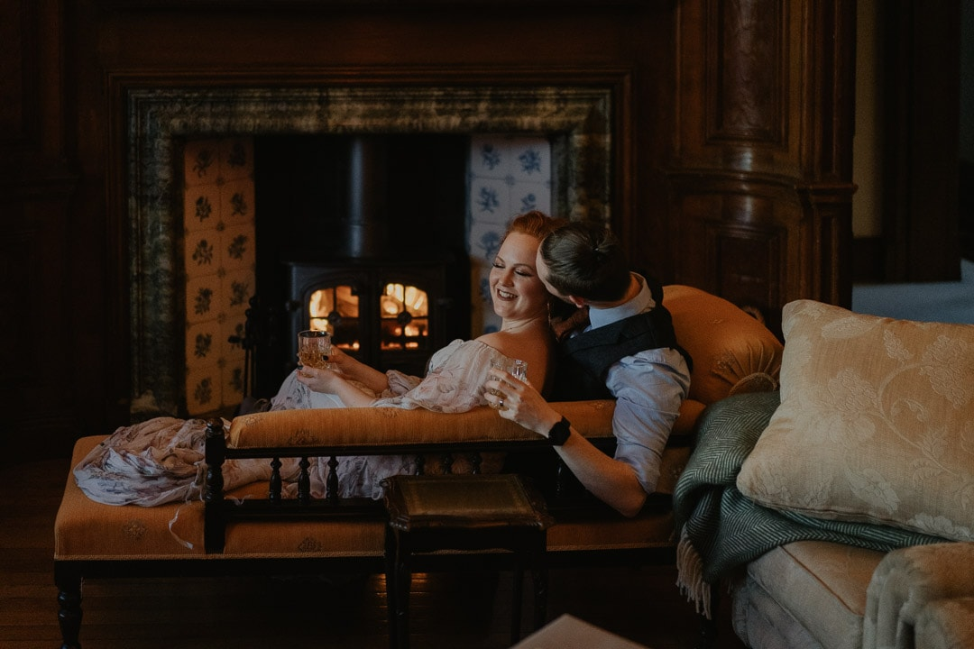 whisky tasting glencoe elopement