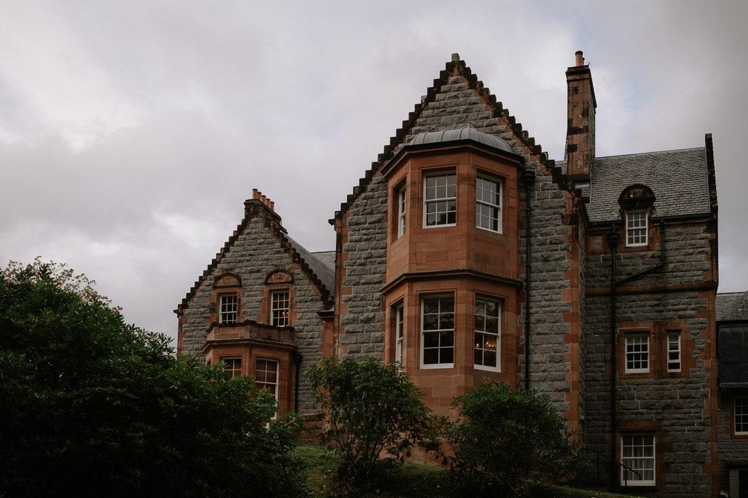 glencoe elopement accommodation - glencoe house