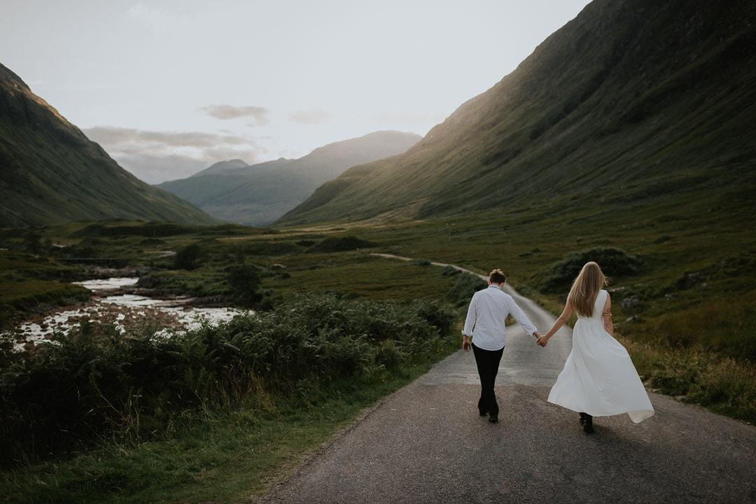 glen etive scotland elopement