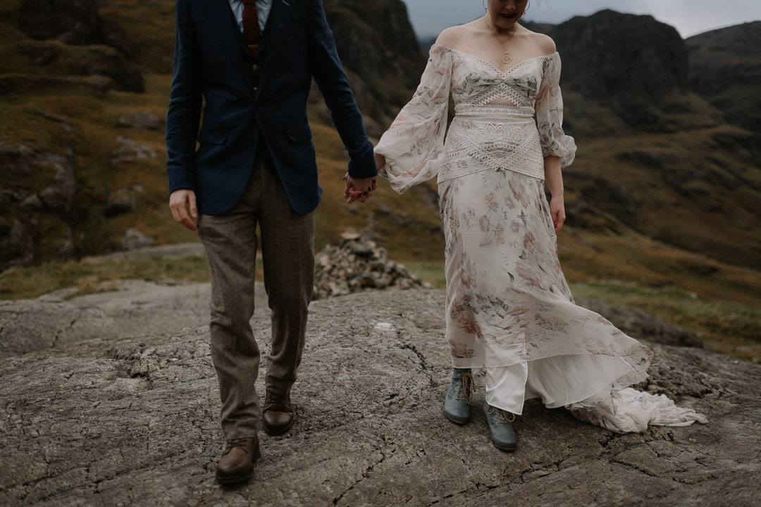 glencoe elopement outfit