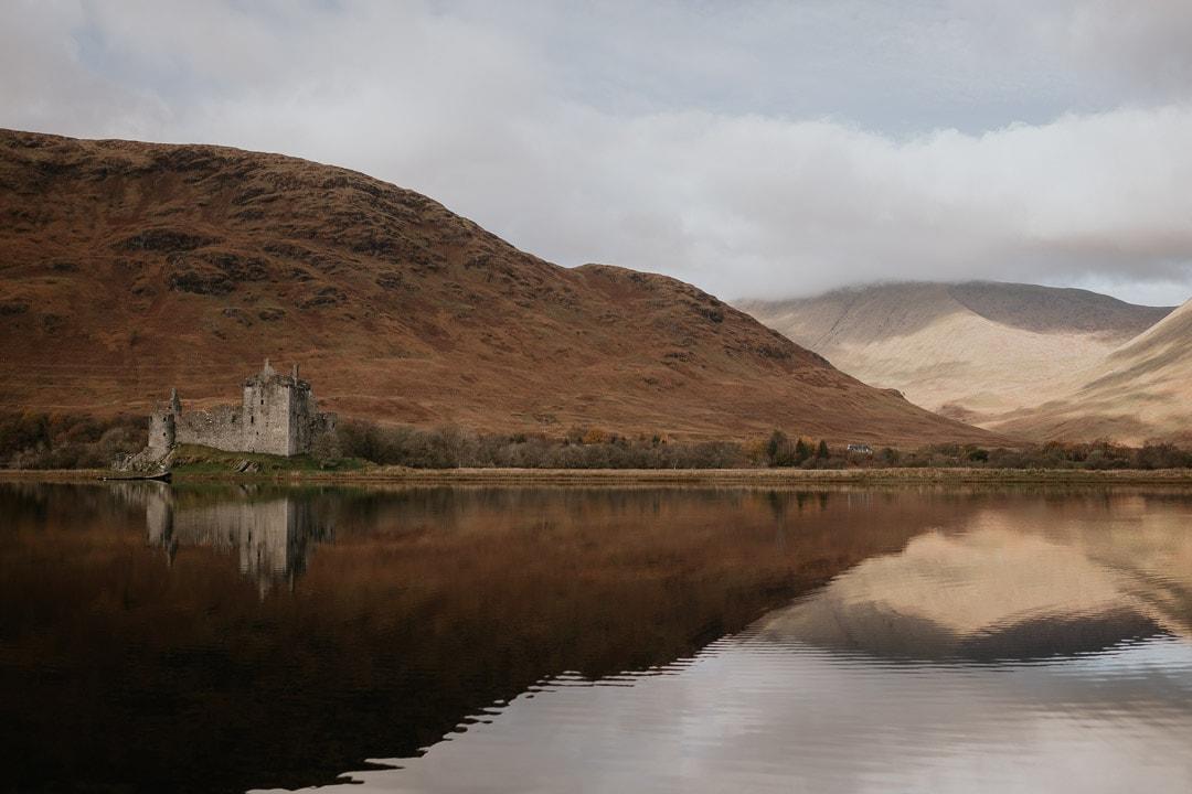 kilchurn castle scotland elopement