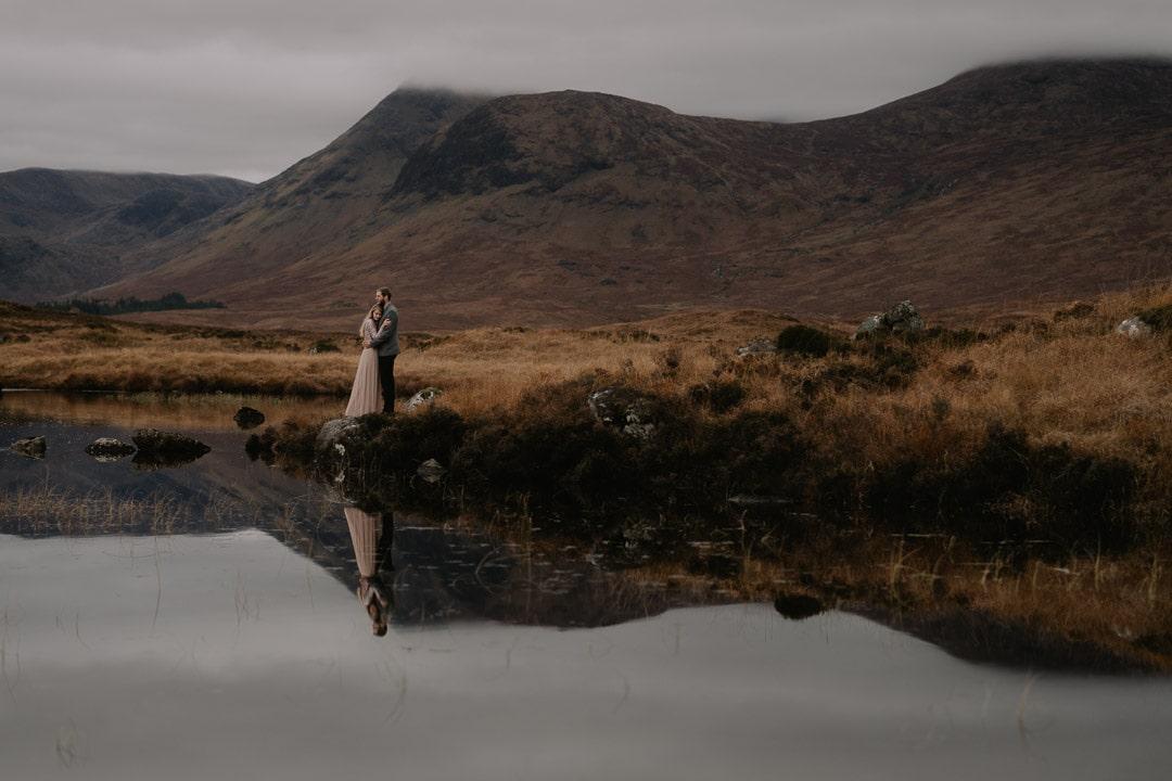 rannoch moor scotland elopement