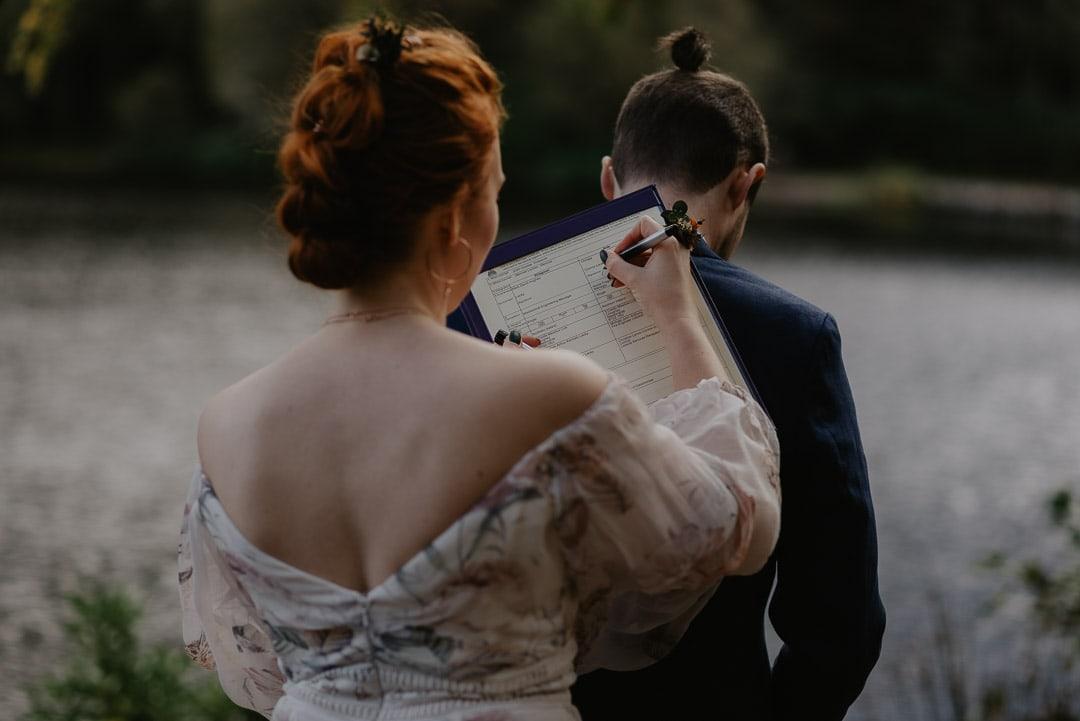 glencoe elopement marriage schedule