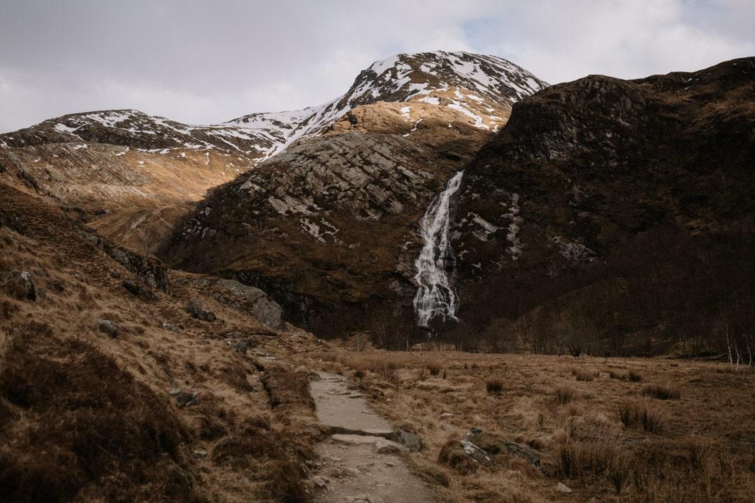 glencoe steall falls