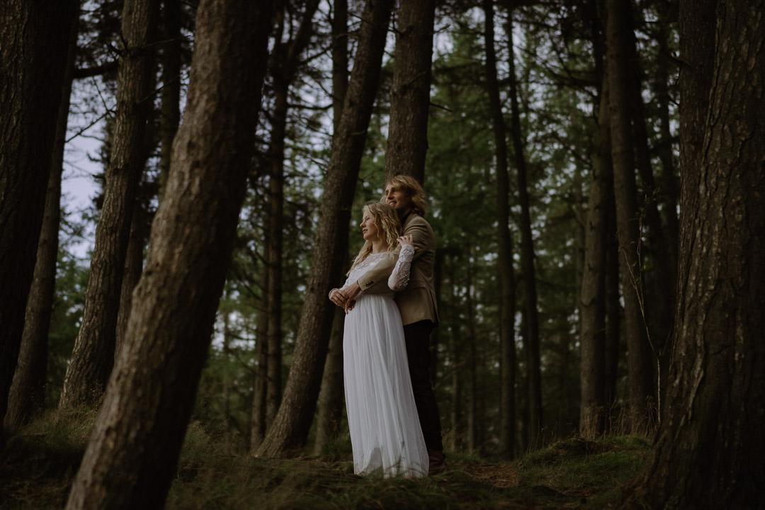 Romantic scotland elopement - edinburgh nature